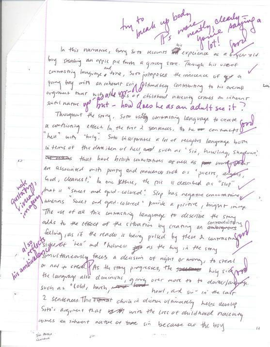Visual analysis essay ap lang